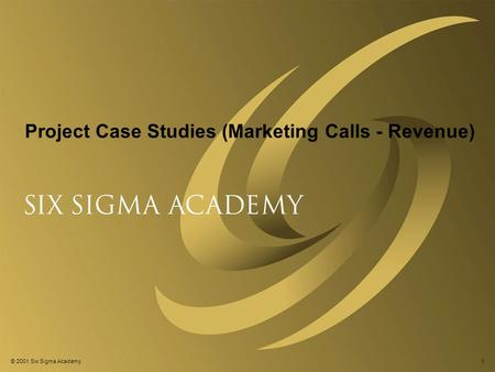 About The ExpertRating Online Six Sigma Master Implementer Certification