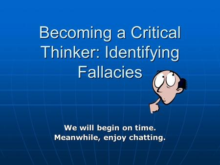 the new critical thinker