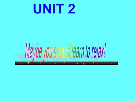UNIT 2 What after-school activities can you think of? Using… - I do: - I don't do:
