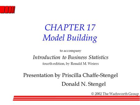 ... single model and how to compare alternative models. - ppt download
