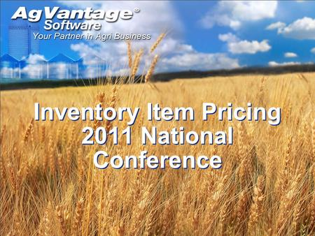 Inventory Item Pricing 2011 National Conference. Item Information Option 1 will let you do all item price updates except global price update. Option 2.