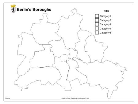 Berlin's Boroughs Category1 Category2 Category3 Category4 Category5 Title Name:________________________________________________________ Source: