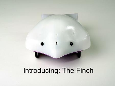 Introducing: The Finch. Low-cost Personal Robot $99.