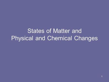 an analysis of the topic of chemical and physical changes Physical and chemical changes - physical and chemical changes physical changes physical changes are changes that alter the size, shape.