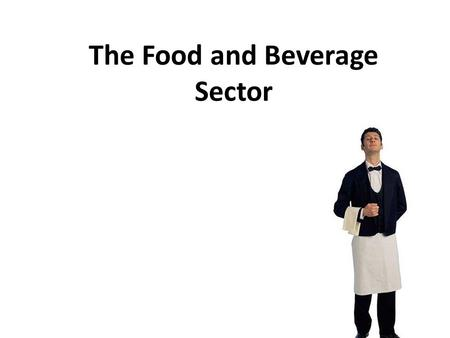 The Food and Beverage Sector. 2 Industry in Canada Food industry- $55 billion / year Forecasts of growth in 4 provinces: – Newfoundland – Alberta – New.