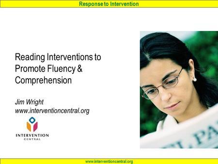 response to intervention essays