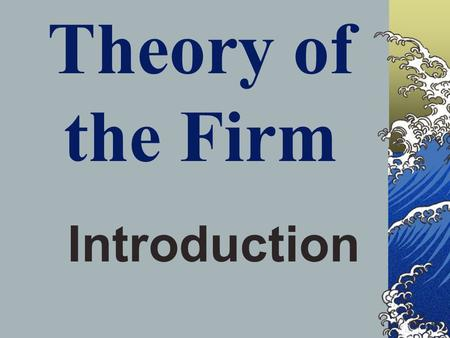 alternative theories to profit maximization The conventional economic theory assumes profit maximization as the only objective of business firms which forms the basis of conventional price theory so it is regarded as the most reasonable and analytically the most 'productive ' business objective.