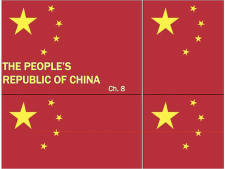I. Introduction to comparative CCP = Chinese Communist Party dominates state and society Power rests on four pillars: – Controls 2.25 million person military.