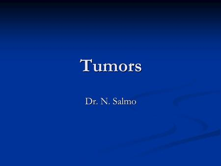 Tumors Dr. N. Salmo. Adrenal cortical tumor. Describe it grossly. Benign or Malignant??