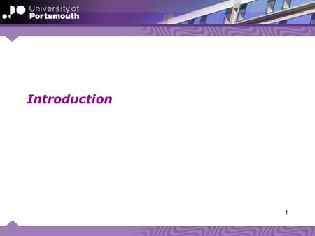 Introduction 1. Aims of these sessions Introduction to UoP processes Mutual support The one hour in the week… 2.