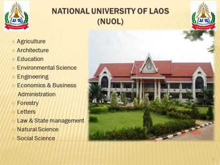 National University of Laos (NUoL)