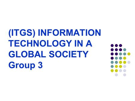 information technology in a global society M&n163itgshp3 egt0cs information technology in a global society case study: smart homes 7 pages international baccalaureate rganization 20 15.