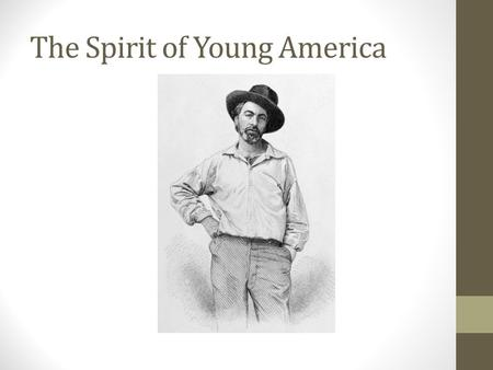 The Spirit of Young America. Territorial Expansion by the Mid-Nineteenth Century.