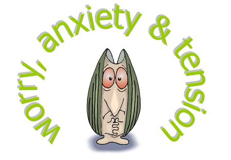 worry, anxiety & tension frequent distressing worry that's difficult to control about many things that might go wrong in the future restlessness, irritability,