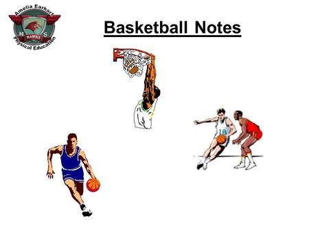 Basketball Notes. Court Diagram: 1. 2. 3. 4. 5. 6. 7. Baseline Basket Key Half Court Sideline Free Throw Line Free Throw Lane.