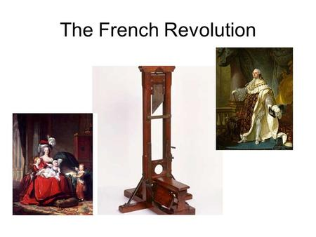 The French Revolution. Off With Their Heads!!! In 1789, France became involved in its own revolution. The French people were being treated very poorly.