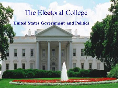 united states electoral college essay American presidency: the electoral college (essay  was held by the united states in 1787, the electoral college has slowly taken shape over  in the essay.