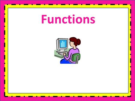 Functions. Warm Up Solve each equation. 1.2x – 6 = 22 2.3 + 5x = -32 3.X + 29 = 14 4.6x – 5 – 4x = 17 x = 14 x = - 7 x = -15 x = 11.