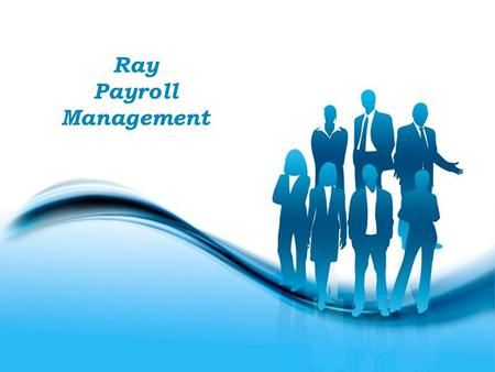 Free Powerpoint Templates Page 1 Free Powerpoint Templates Ray Payroll Management.