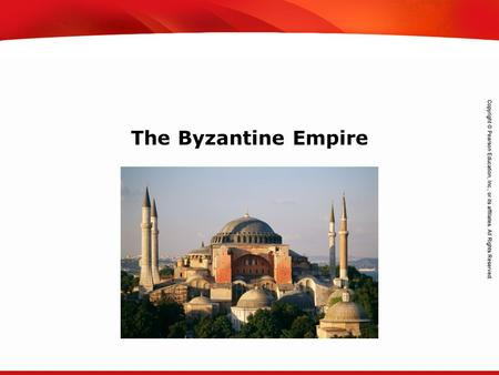 TEKS 8C: Calculate percent composition and empirical and molecular formulas. The Byzantine Empire.