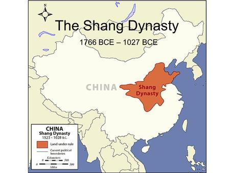 The Shang Dynasty 1766 BCE – 1027 BCE. Writing The Shang Dynasty was the first dynasty in China to communicate with writing. Some Chinese writing evolved.
