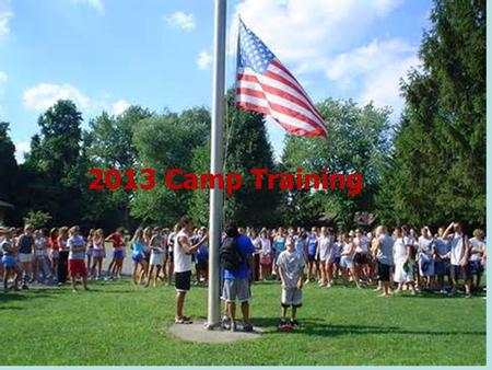 2013 Camp Training. The Ministry of Kamp Koinonia Why are we here?  Focus on camp  Remind us how significant camp is  Learn to follow.