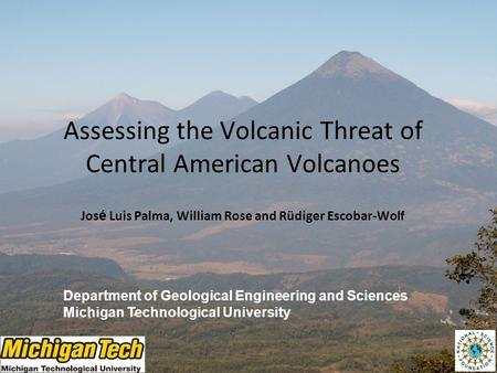 Assessing the Volcanic Threat of Central American Volcanoes