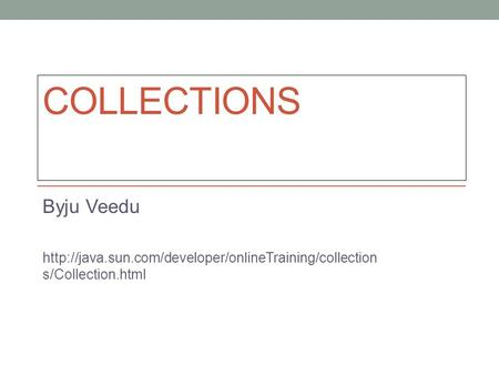 COLLECTIONS Byju Veedu  s/Collection.html.