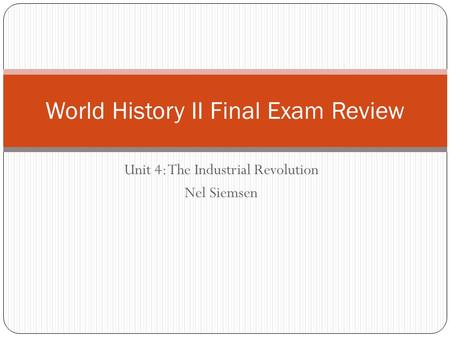 world history i exam i review There are a variety of things you could do to study for the ap world history   review book and start reviewing a few weeks or months before the exam if you  are.