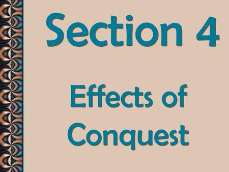 Section 4 Effects of Conquest. Conquests and wealth changed Rome's economy and government!