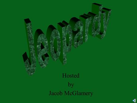 Hosted by Jacob McGlamery 100 200 400 300 400 FractionsNumbersGeometry Advanced Vocabulary 300 200 400 200 100 500 100.