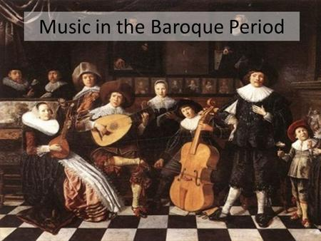 The baroque period ppt download for What is the baroque period