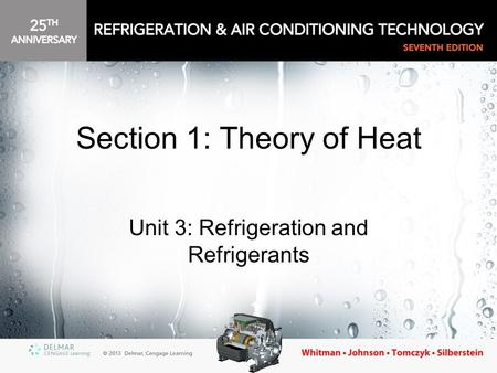Section 1: Theory of Heat