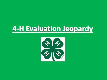 Stakeholders Data Points Qualitative and Quantitative Reporting Daily Double!!! Place your bet. Final Jeopardy.