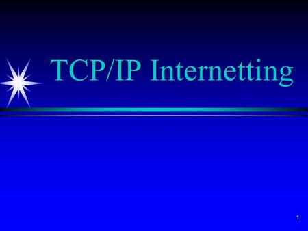 1 TCP/IP Internetting. 2 3 4 ä Subnet layer ä Links stations on same subnet ä Often IEEE LAN standards ä PPP for telephone connections ä TCP/IP specifies.