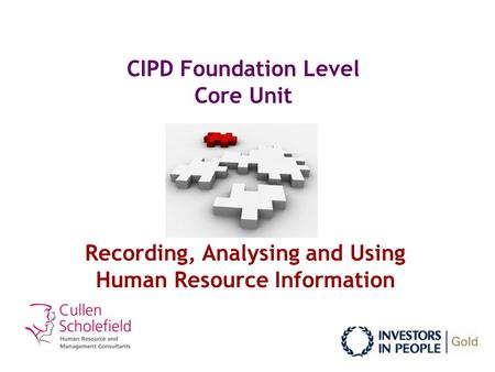 cipd assessment report foundation This level 3 in hr practice course is for those aspiring to work in human   there are six units to cover with a varied and challenging assortment of  assessment techniques  on your first day, please report to the reception in  roper building.