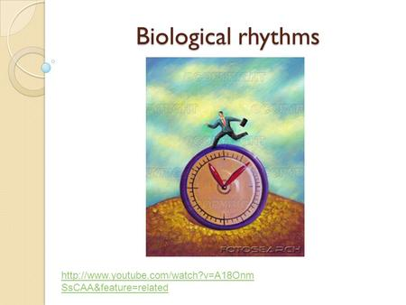 Biological rhythms http://www.youtube.com/watch?v=A18OnmSsCAA&feature=related.