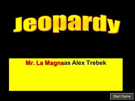 Mr. La Magnaas Alex Trebek. True/False Questioned Document analysis is a peer-reviewed field A-A1.