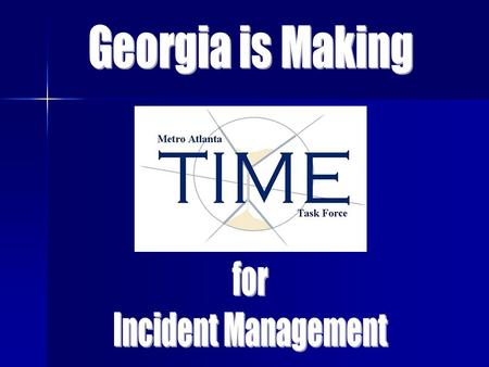 75% of the daily congestion in Georgia. Atlanta has approximately 50% of the daily travel and... Why Is Incident Management Important In Metro Atlanta?