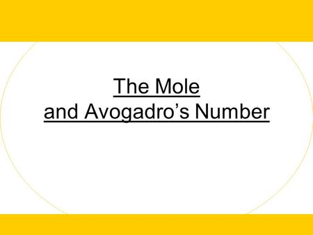 The Mole and Avogadro's Number. Mole (n): the amount of substance 6.02x10 23 particles (atoms or molecules) of a substance The same number of particles.