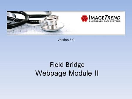 Version 5.0 Field Bridge Webpage Module II. From Scene Tab.