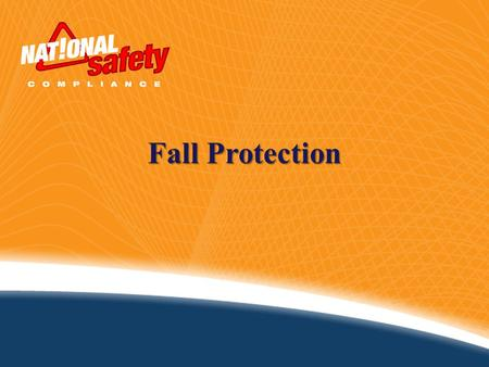 Fall Protection. Introduction According to the U.S. Department of Labor, falls account for eight percent of all occupational fatalities. In the U.S.,