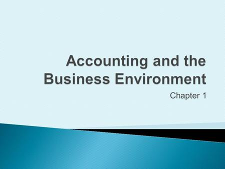 Chapter 1. Define accounting vocabulary 1. Measures business activity 2. Processes data into reports 3. Communicates results to decision makers 3Copyright.