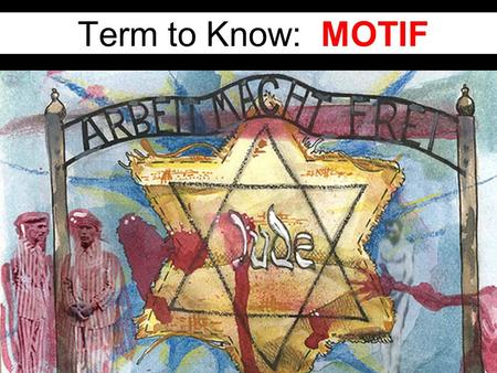 Term to Know: MOTIF. Definition of Motif A motif in literature is a WORD, CHARACTER, OBJECT, IMAGE, or IDEA that recurs and usually bears an important.