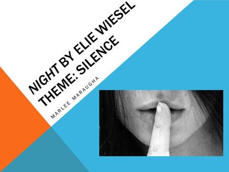 Night: Theme Analysis