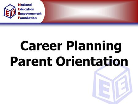 Career Planning Parent Orientation. How Do Most Students Approach Career Planning?