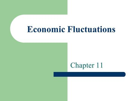 Economic Fluctuations Chapter 11. Chapter Focus Learn about aggregate demand and the factors that affect it Analyze aggregate supply and the factors that.