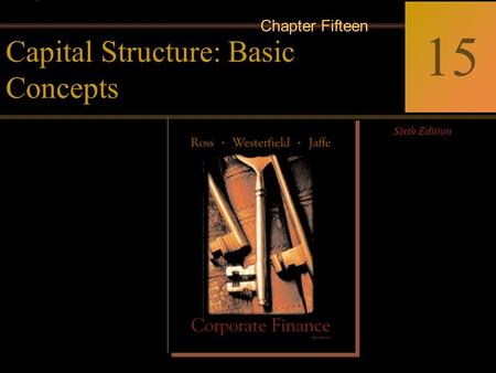 McGraw-Hill/Irwin Copyright © 2002 by The McGraw-Hill Companies, Inc. All rights reserved. 15-0 Corporate Finance Ross  Westerfield  Jaffe Sixth Edition.
