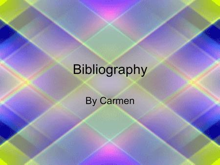 Bibliography By Carmen. The Cay Taylor, Theodore, The Cay. New York, Yearling, 1996. The Cay is a story about a young boy named Phillip who his mom gets.