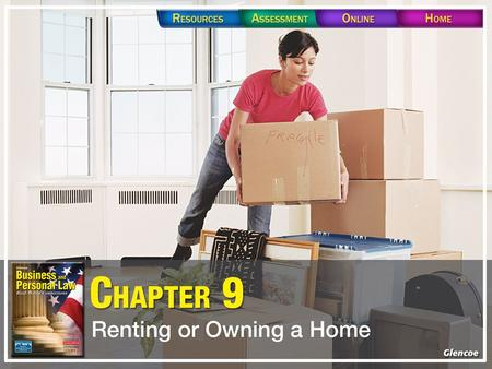 Section 9.1 Rental Agreements Section 9.1 Rental Agreements A contract to rent real property, such as an apartment or a house, is called a lease. The.